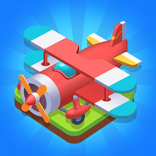 Merge Plane Click Idle Tycoon 1.4.4 MOD APK