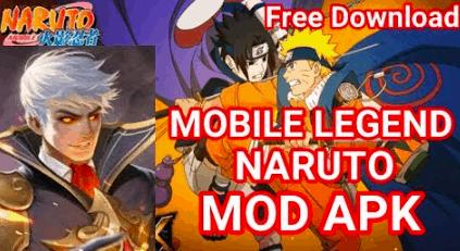 Naruto Senki versi Mobile Legends MOD APK