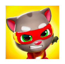 Talking Tom Hero Dash Mod Apk v1.4.0.777 (Unlimited Money)