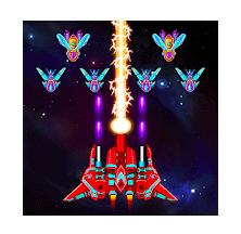 Galaxy Attack Alien Shooter Mod Apk (Unlimited Money) v24.0