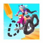 Scribble Rider Mod Apk (Unlimited Coins) v1.292