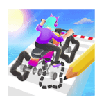 Scribble Rider Mod Apk  (Unlimited Coins) v1.502