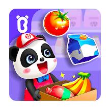 Baby Panda's Town Supermarket Mod Apk v8.47.00.00