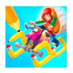 Scribble Rider Mod Apk  (Unlimited Coins) v1.600