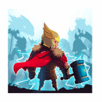 Thor War of Tapnarok Mod Apk (Unlimited Money) v1.3.5